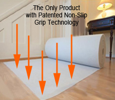 The Only Product with Patented Non-Slip Grip Technology